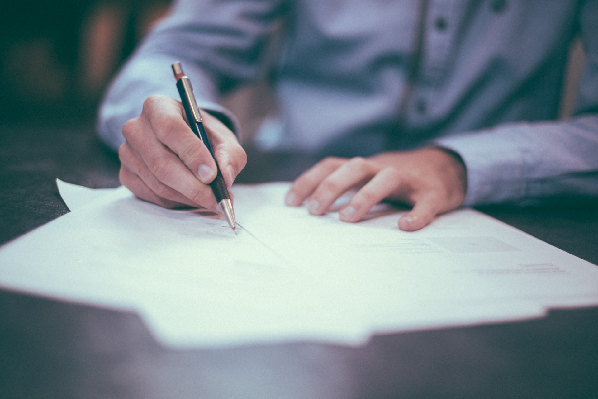 Unterschrift Ehevertrag